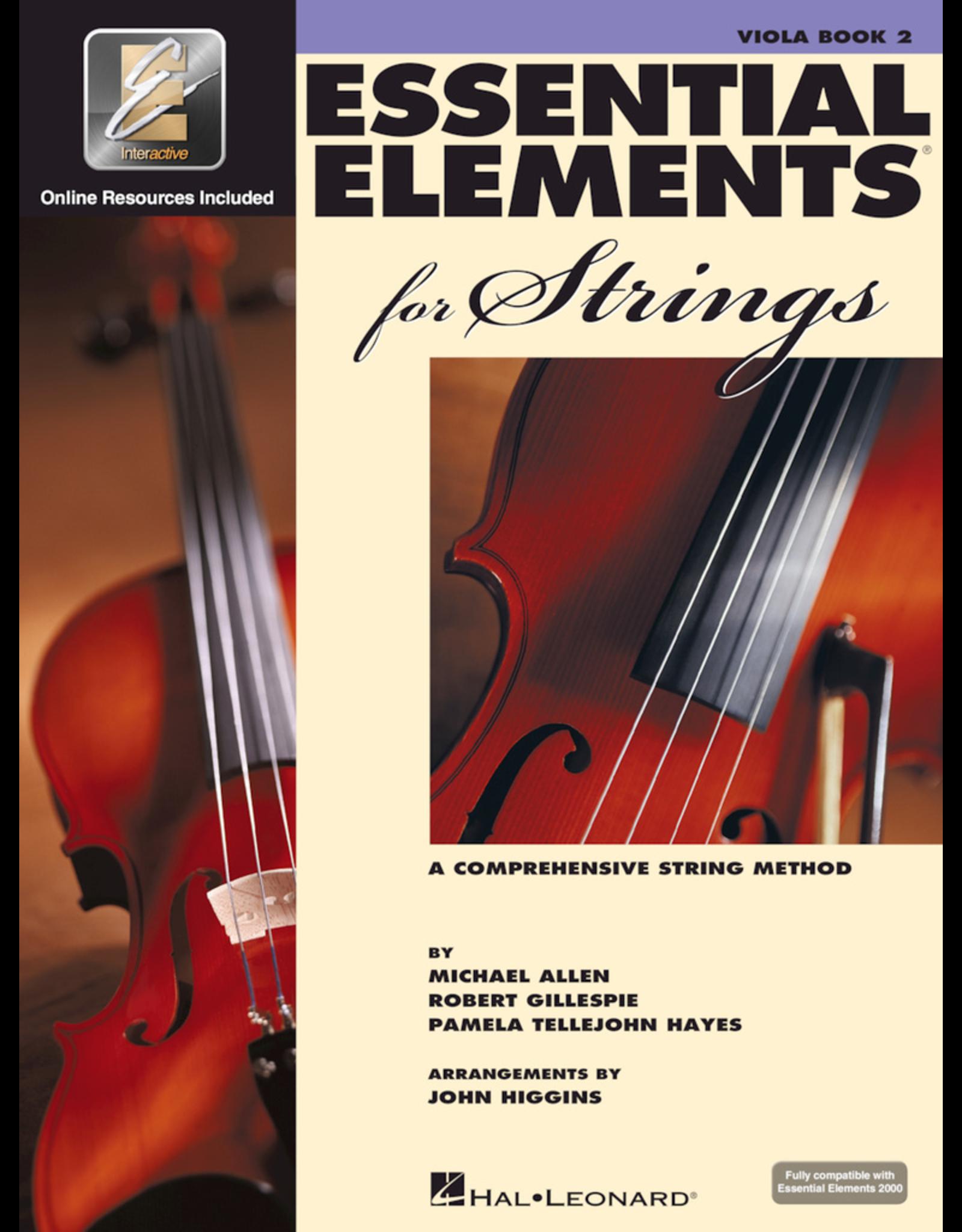 Hal Leonard Essential Elements Book 2 Viola