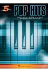 Hal Leonard Pop Hits 5-Finger Piano