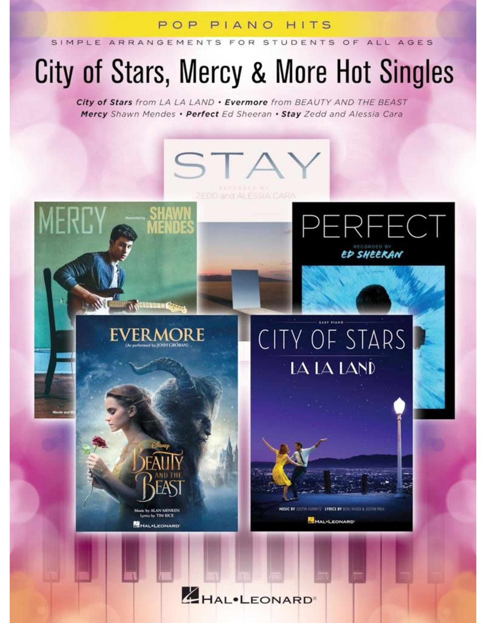 Hal Leonard City of Stars, Mercy, and More Hot Singles Easy Piano