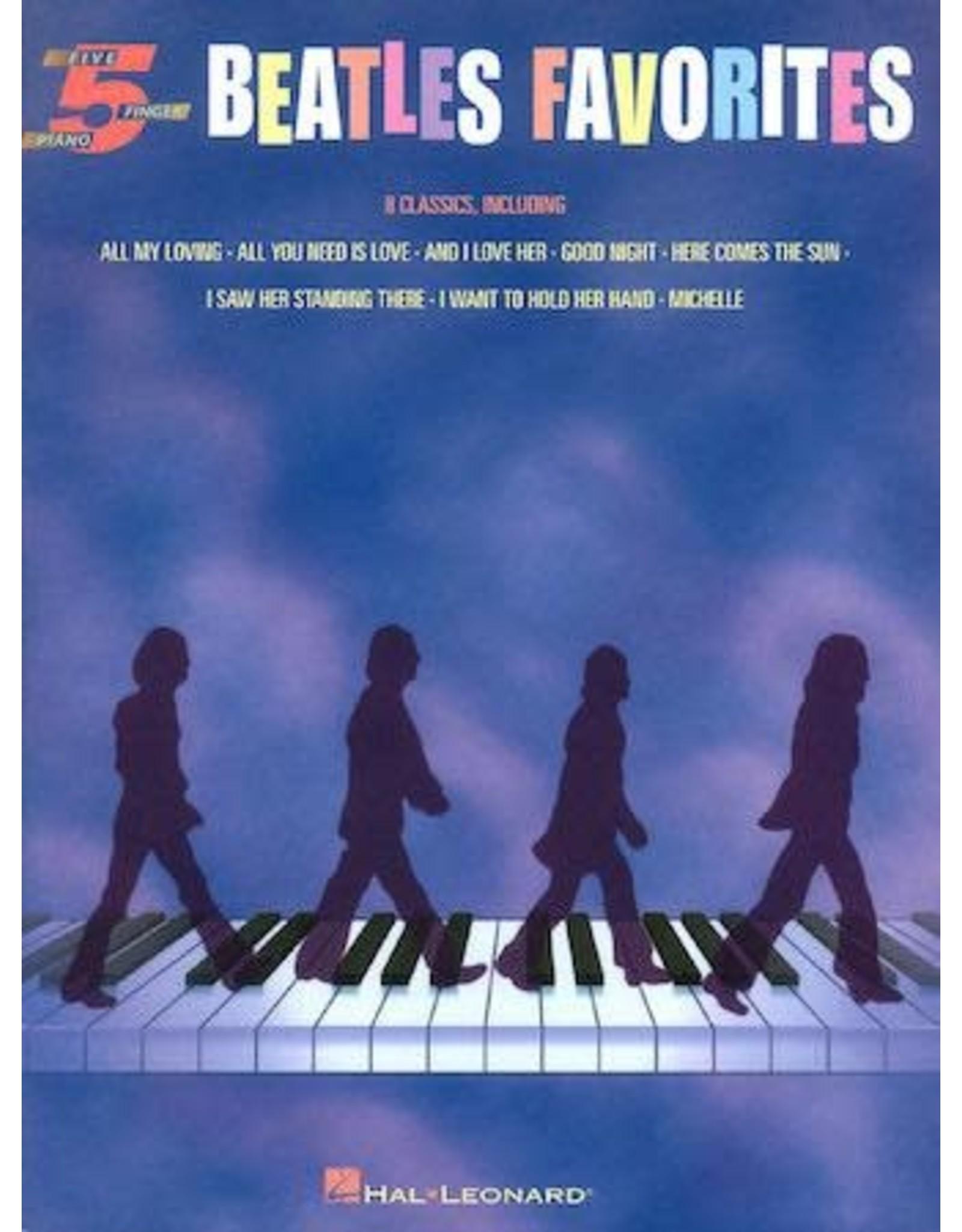 Hal Leonard Beatles Favorites 5 Finger