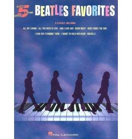 Hal Leonard Beatles Favorites - 5 Finger