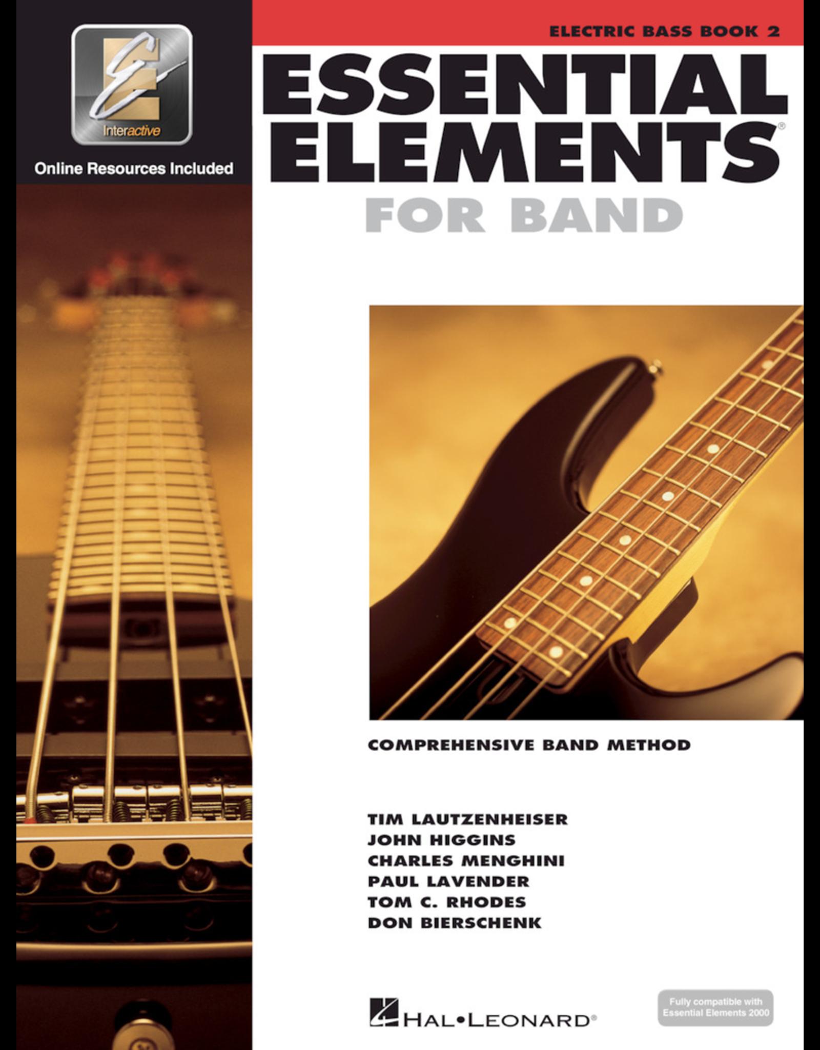 Hal Leonard Essential Elements Book 2 Electric Bass