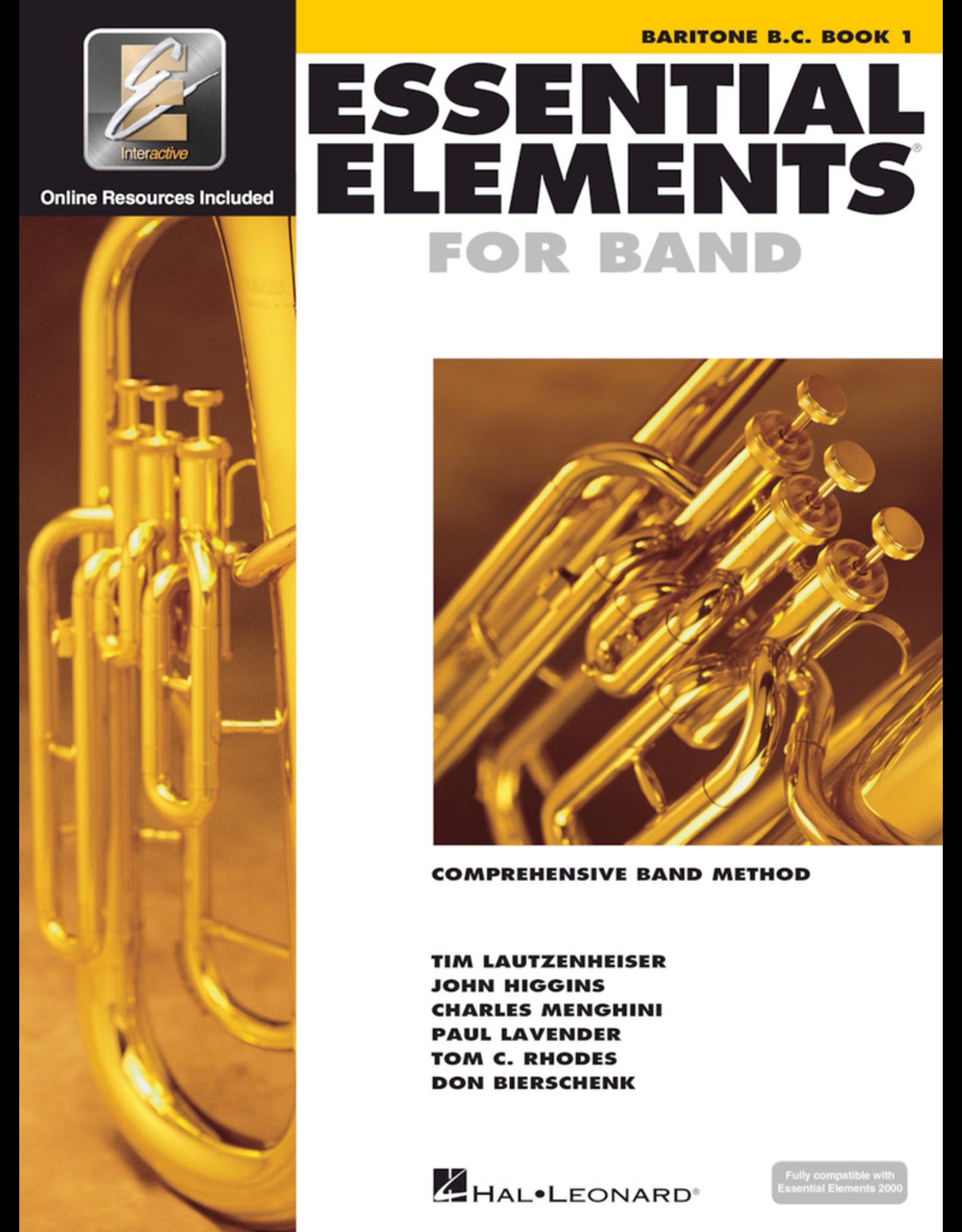 Hal Leonard Essential Elements Book 1 Baritone B.C.