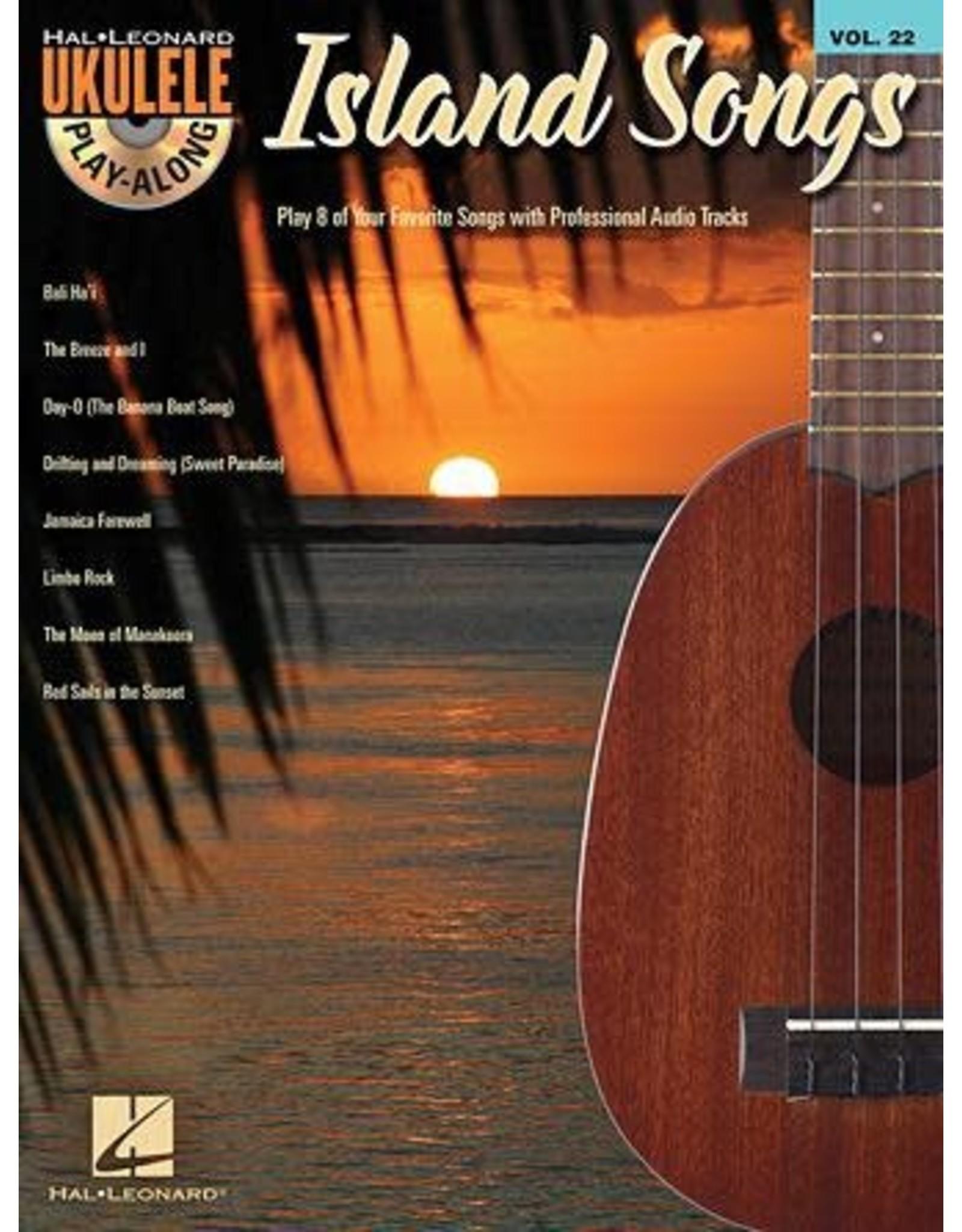 Hal Leonard Island Songs - Ukulele Play Along