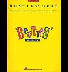Hal Leonard Beatles Best - Big Note