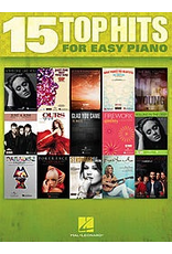 Hal Leonard 15 Top Hits for Easy Piano