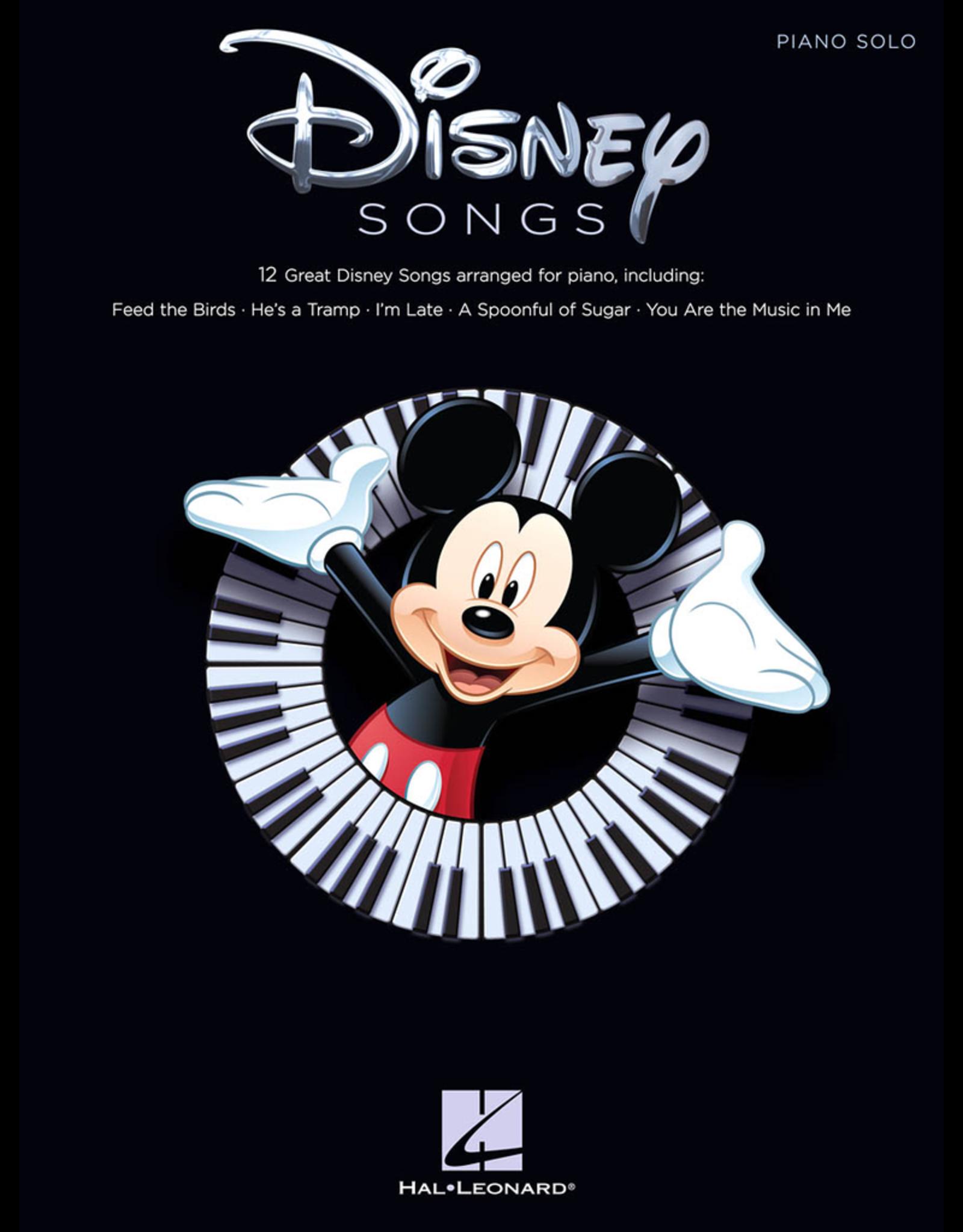 Hal Leonard Disney Songs Piano Solo