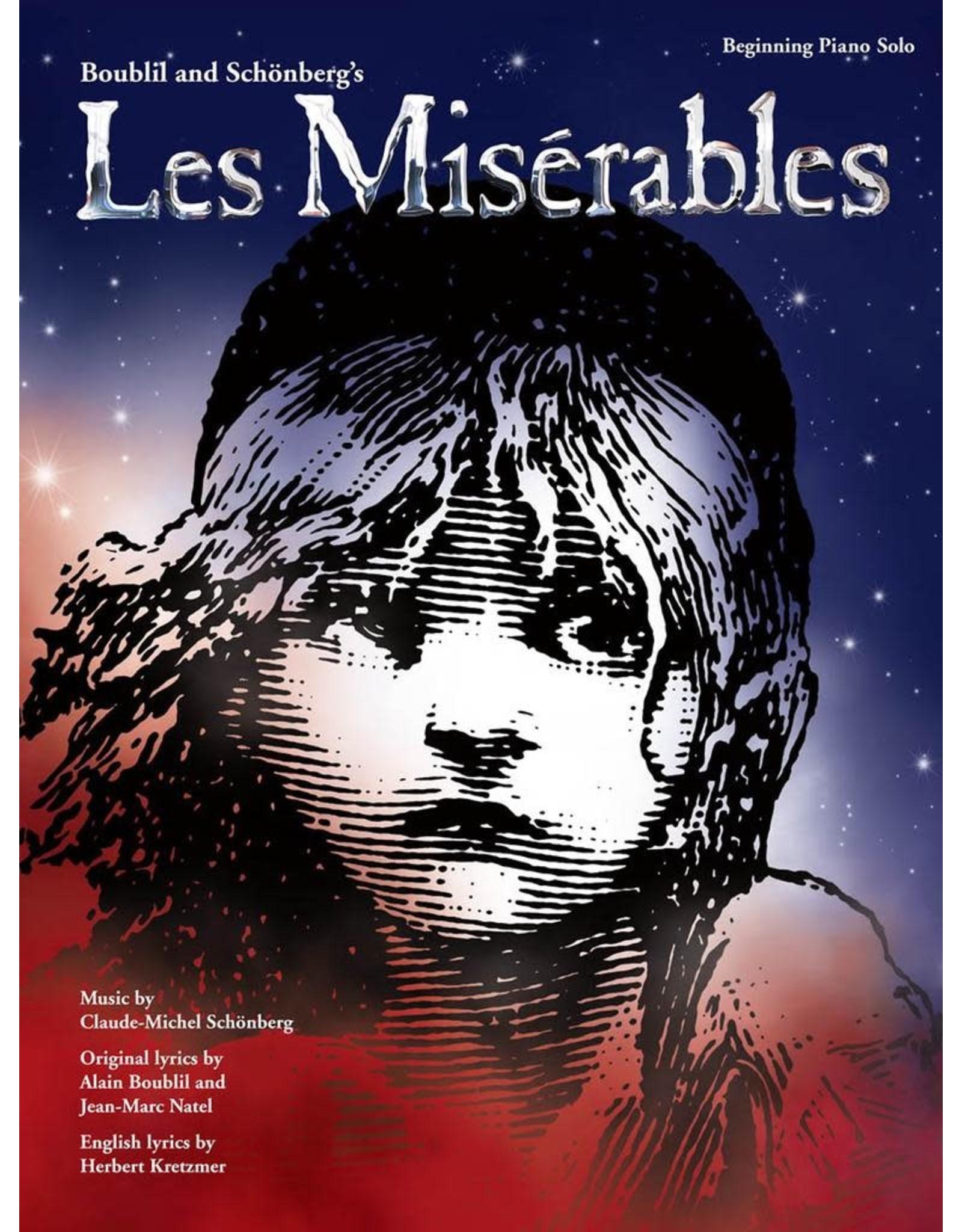 Hal Leonard Les Miserables Beginning Piano Solo