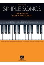 Hal Leonard Simple Songs - The Easiest Easy Piano Songs