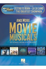Hal Leonard Songs from A Star Is Born, La La Land, The Greatest Showman, and More Movie Musicals E-Z Play Today