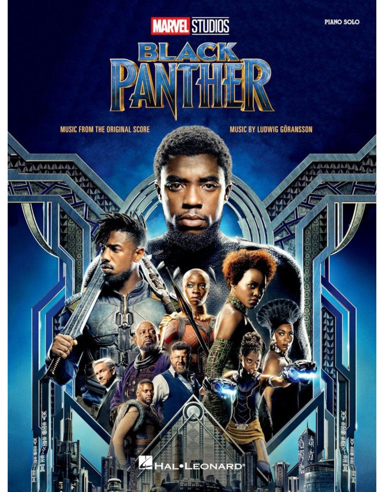 Hal Leonard Black Panther Music from the Motion Picture Piano Solos
