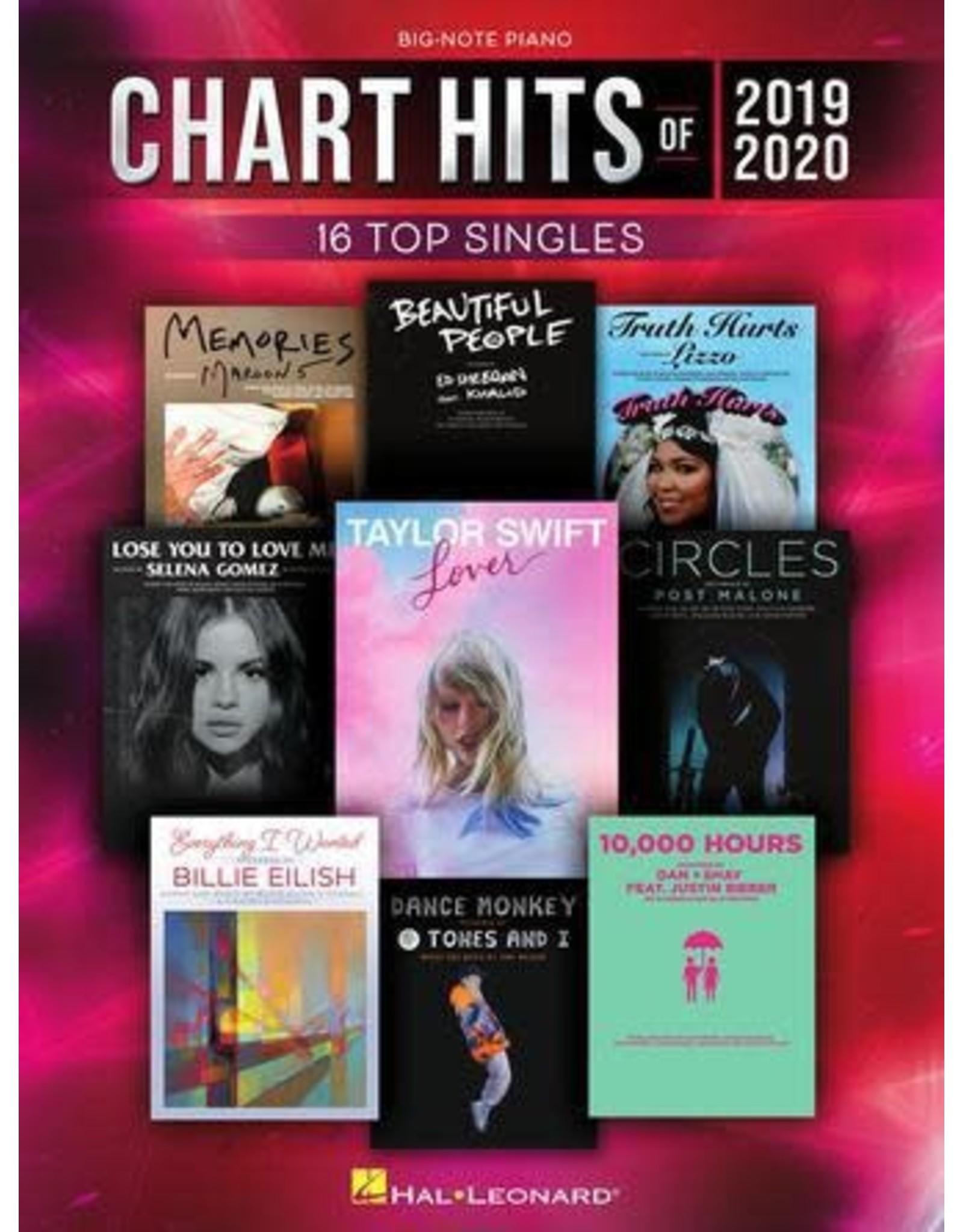 Hal Leonard Chart Hits of 2019-2020 Big Note Piano