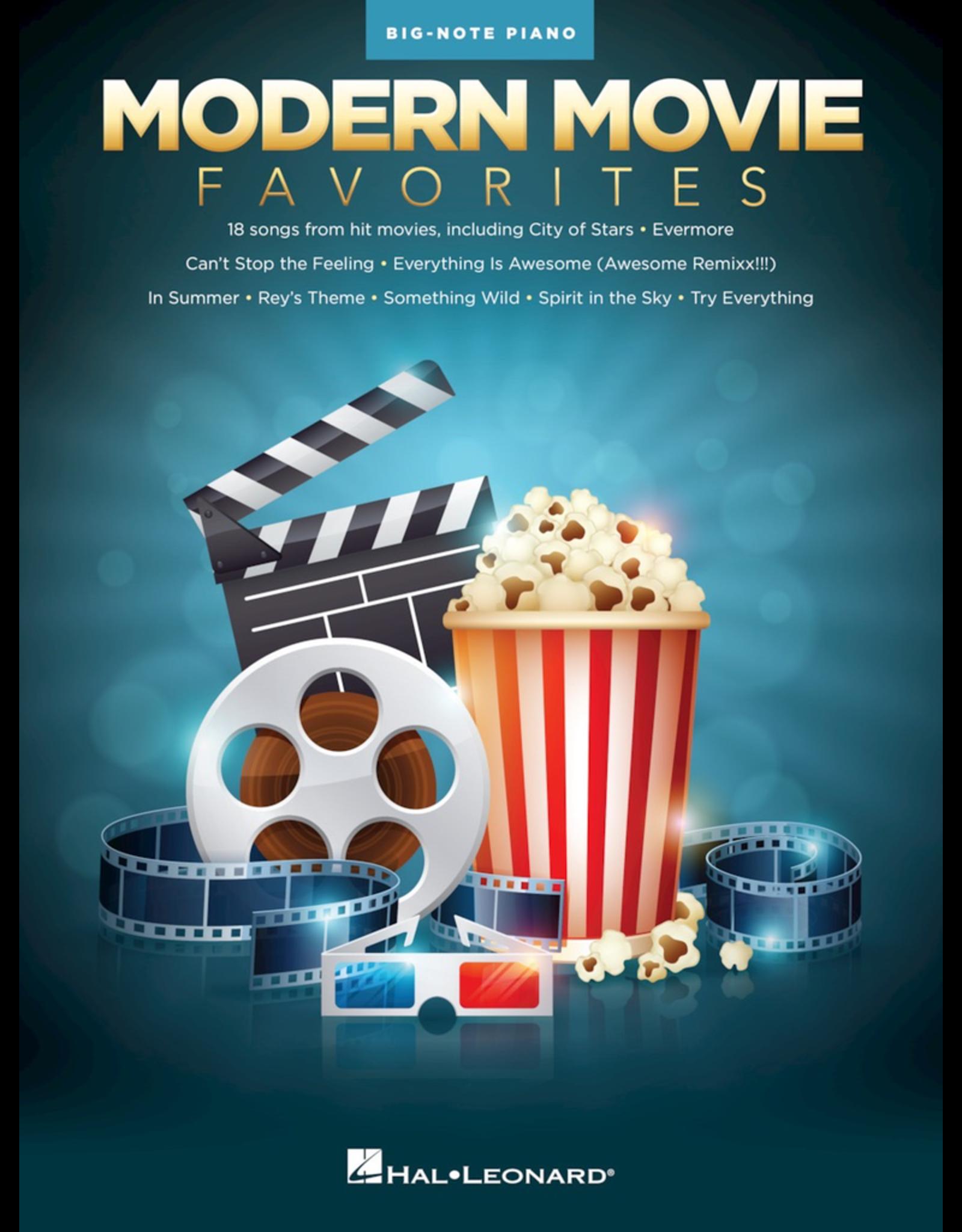 Hal Leonard Modern Movie Favorites Big Note