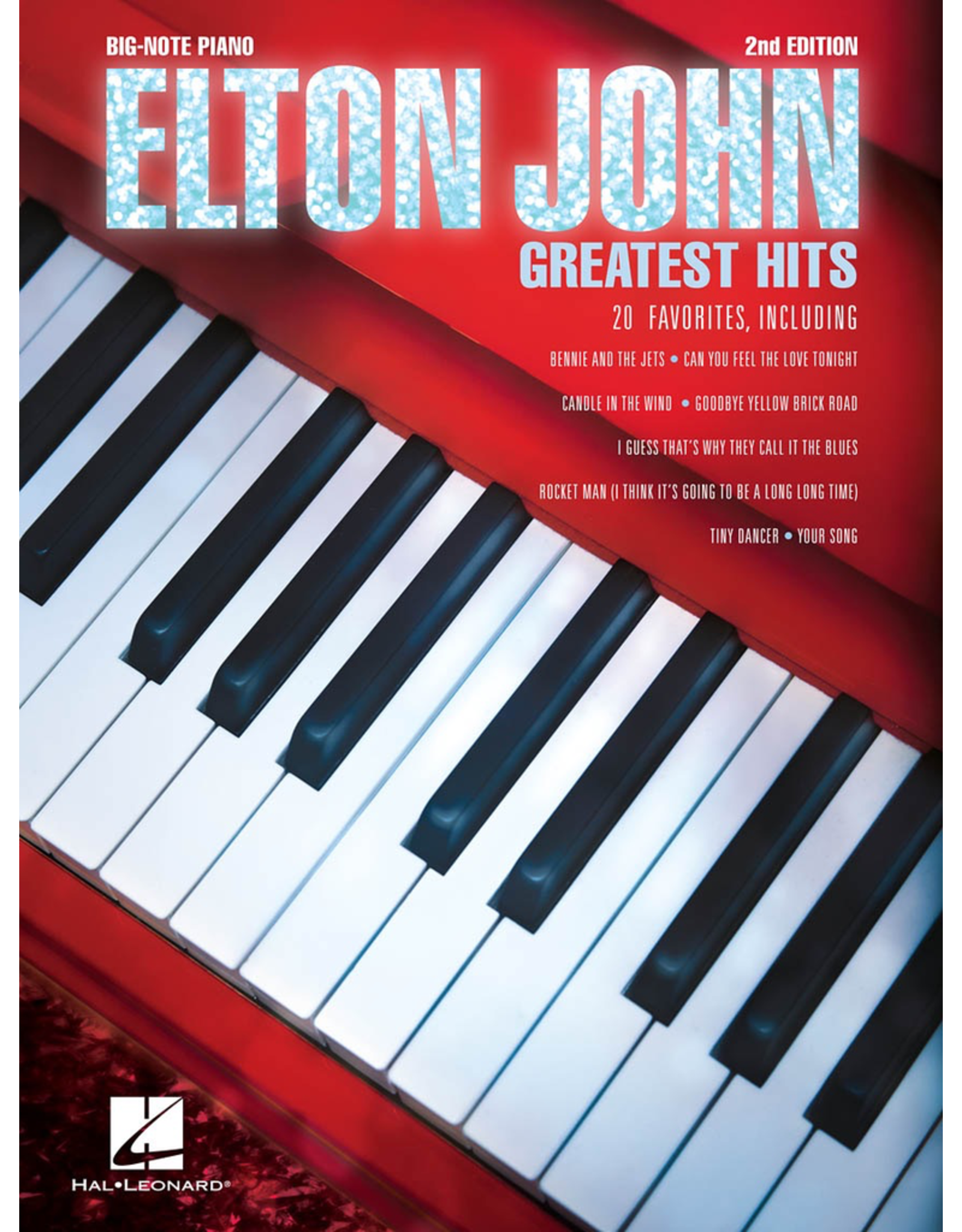 Hal Leonard Elton John Greatest Hits Big Note