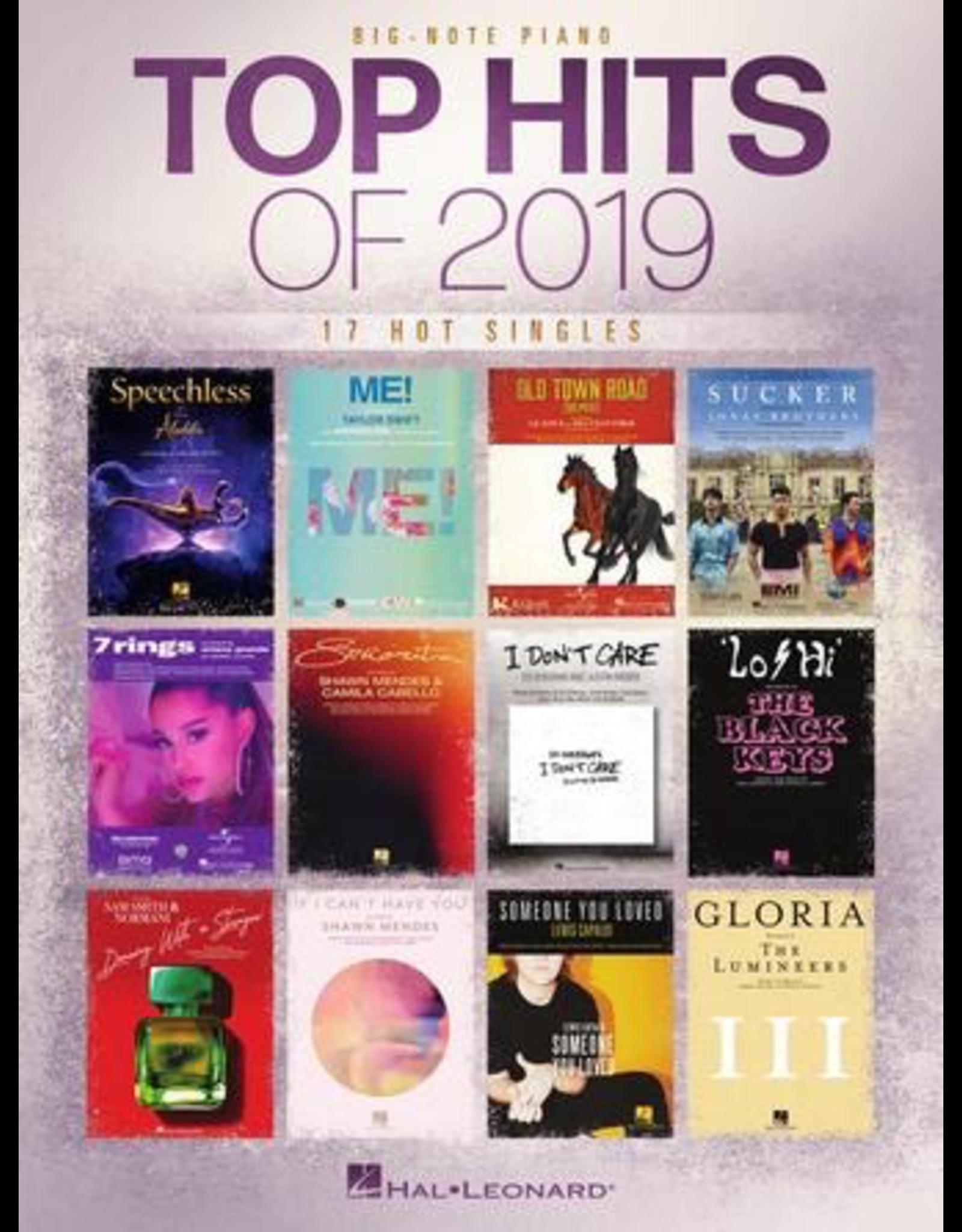 Hal Leonard Top Hits of 2019 Big Note