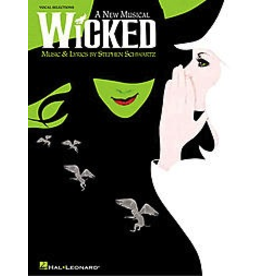Hal Leonard Wicked Vocal Selections PVG