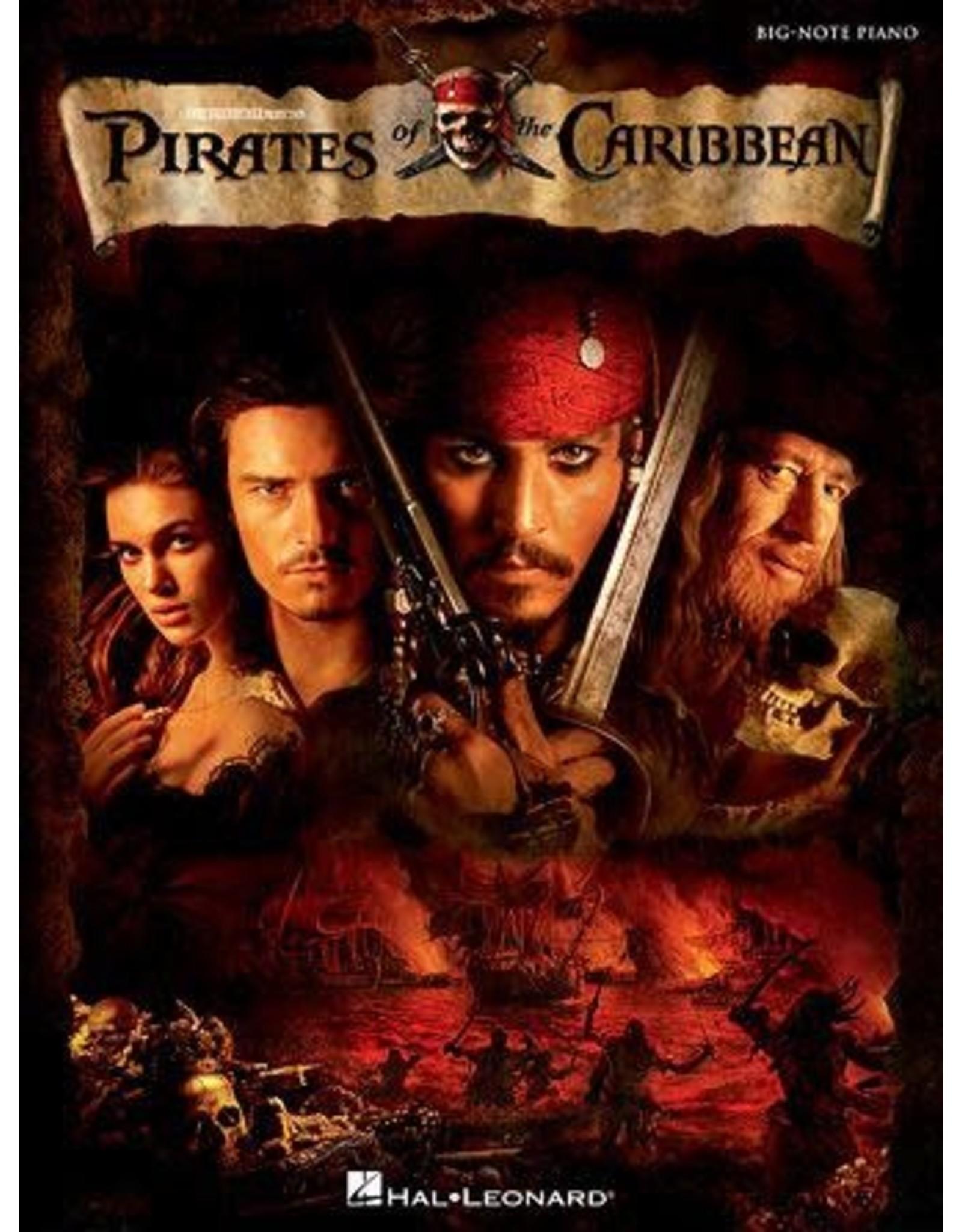 Hal Leonard Pirates of the Carribean Big Note