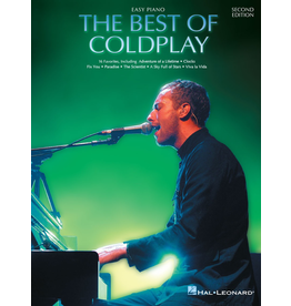 Hal Leonard Best of Coldplay Easy Piano