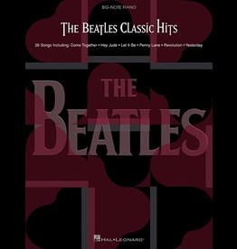 Hal Leonard Beatles Classic Hits - Big Note Piano