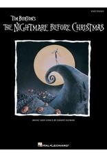 Hal Leonard Nightmare Before Christmas - Easy Piano