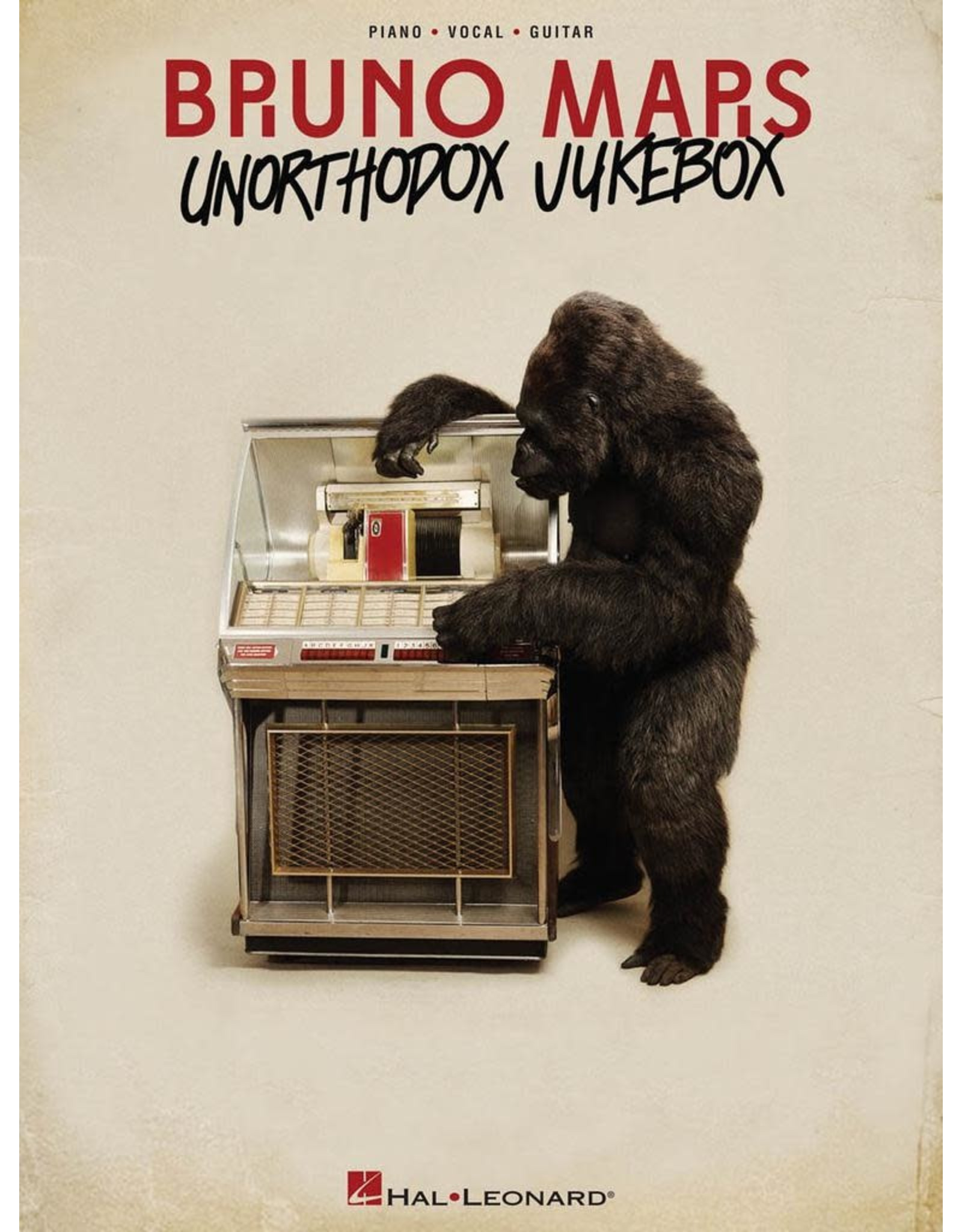 Hal Leonard Bruno Mars - Unorthodox Jukebox PVG