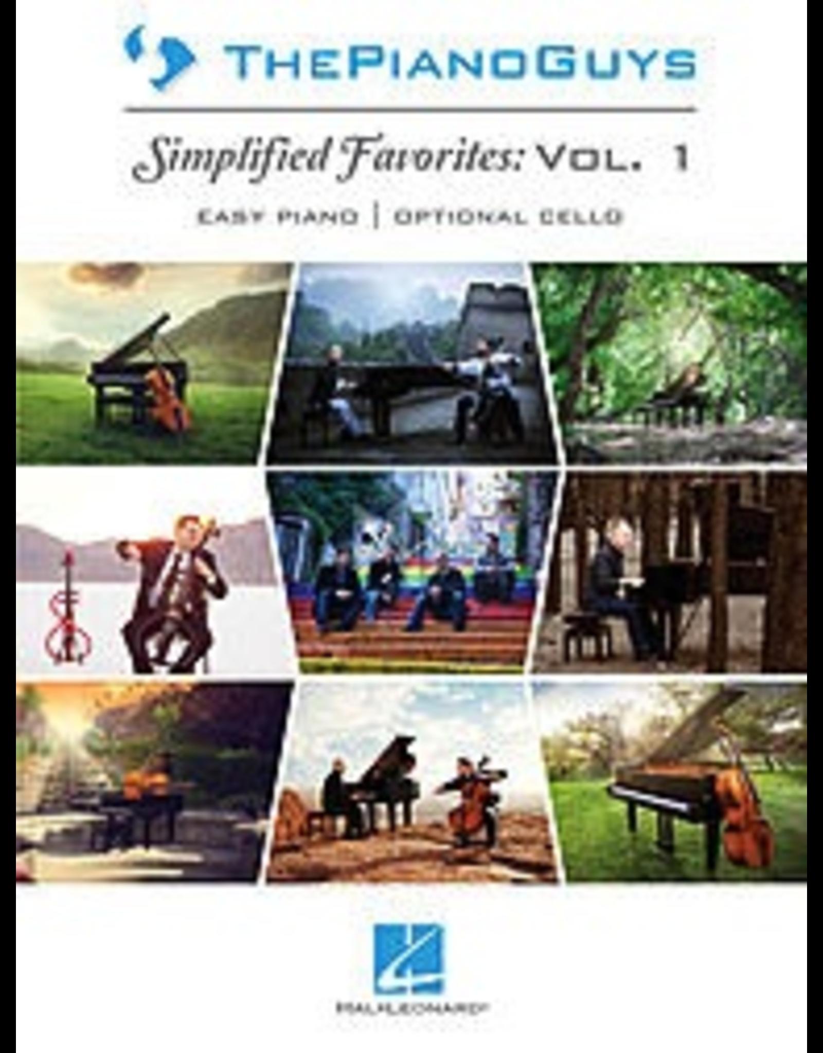 Hal Leonard Piano Guys Simplified Favorites Volume 1 Easy Piano | Cello