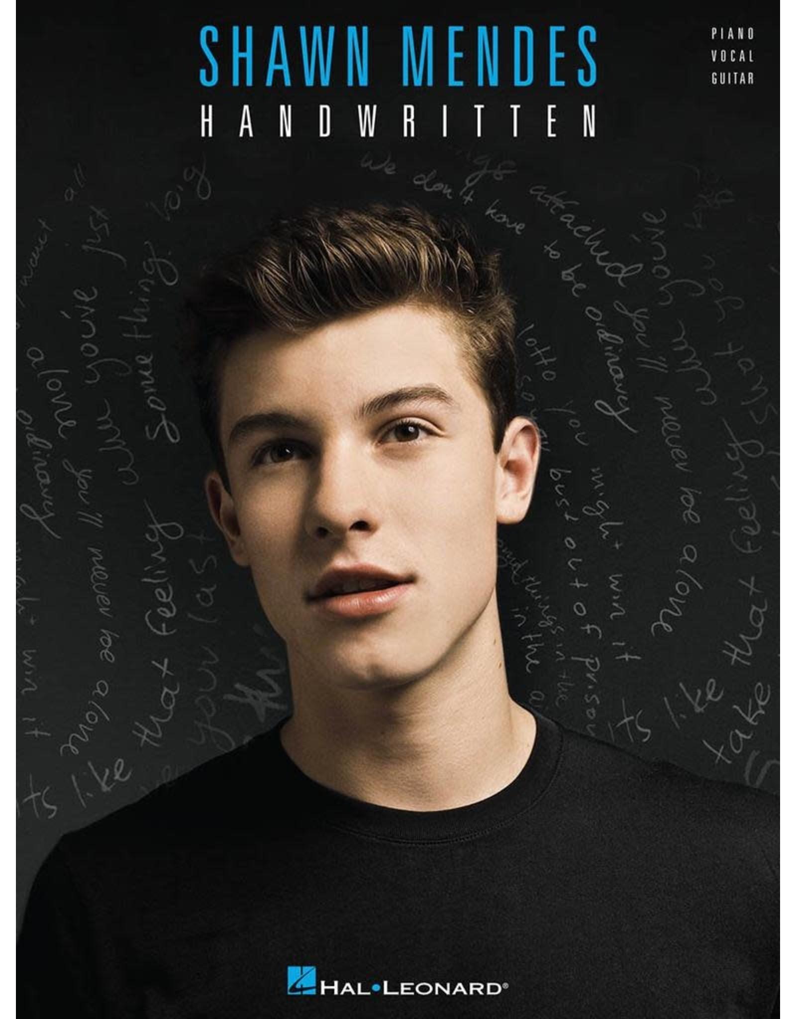 Hal Leonard Shawn Mendes - Handwritten PVG