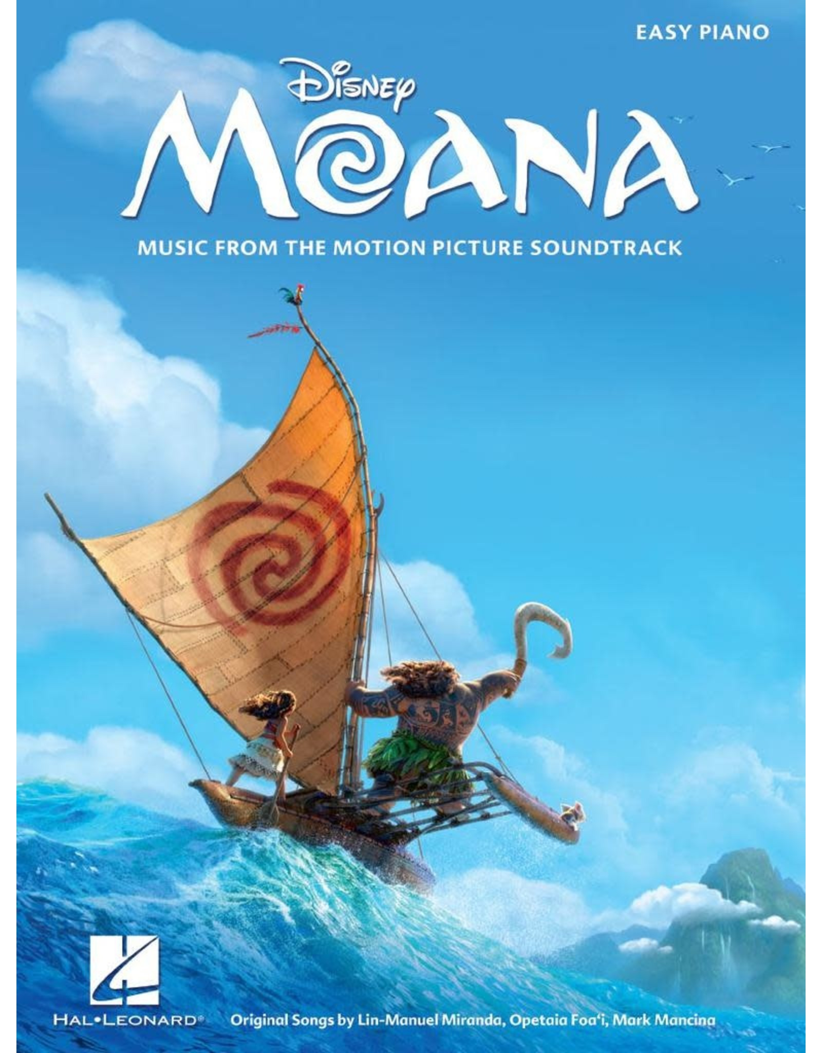 Hal Leonard Moana - Music from the Motion Picture Easy Piano