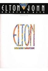 Hal Leonard Elton John Greatest Hits Easy Piano