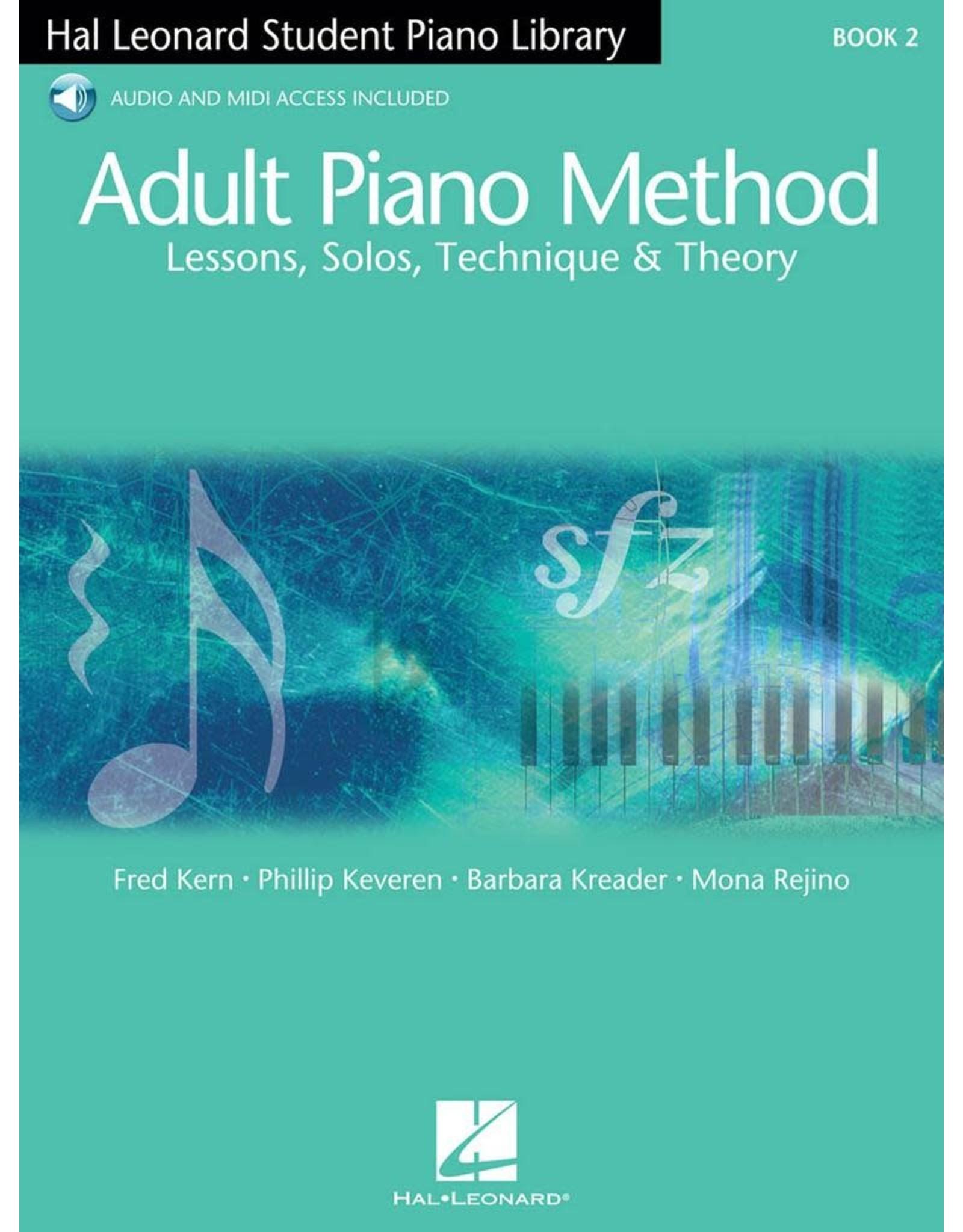 Hal Leonard Hal Leonard Adult Piano Method Book 2 with Audio Access