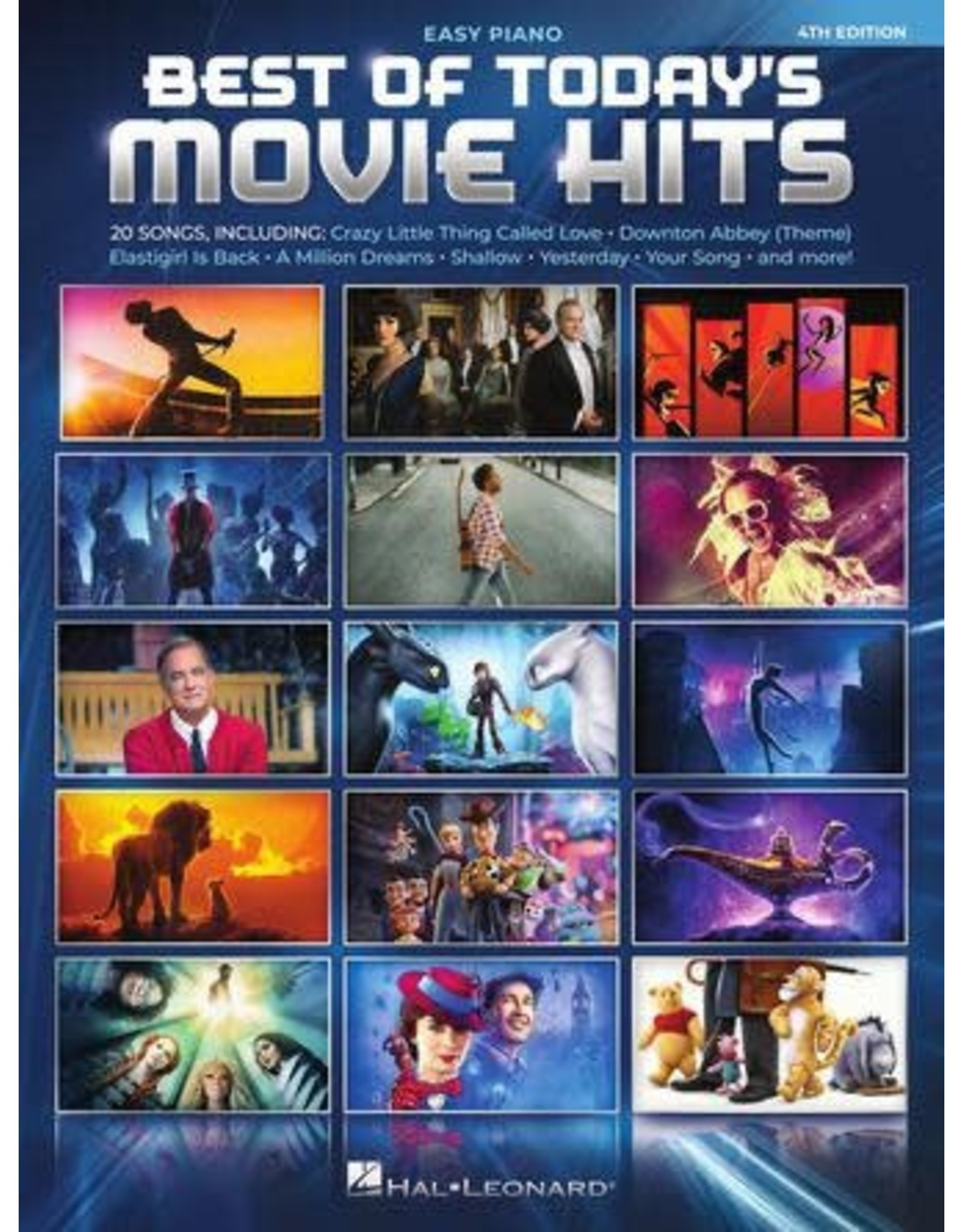 Hal Leonard Best of Today's Movie Hits Easy Piano
