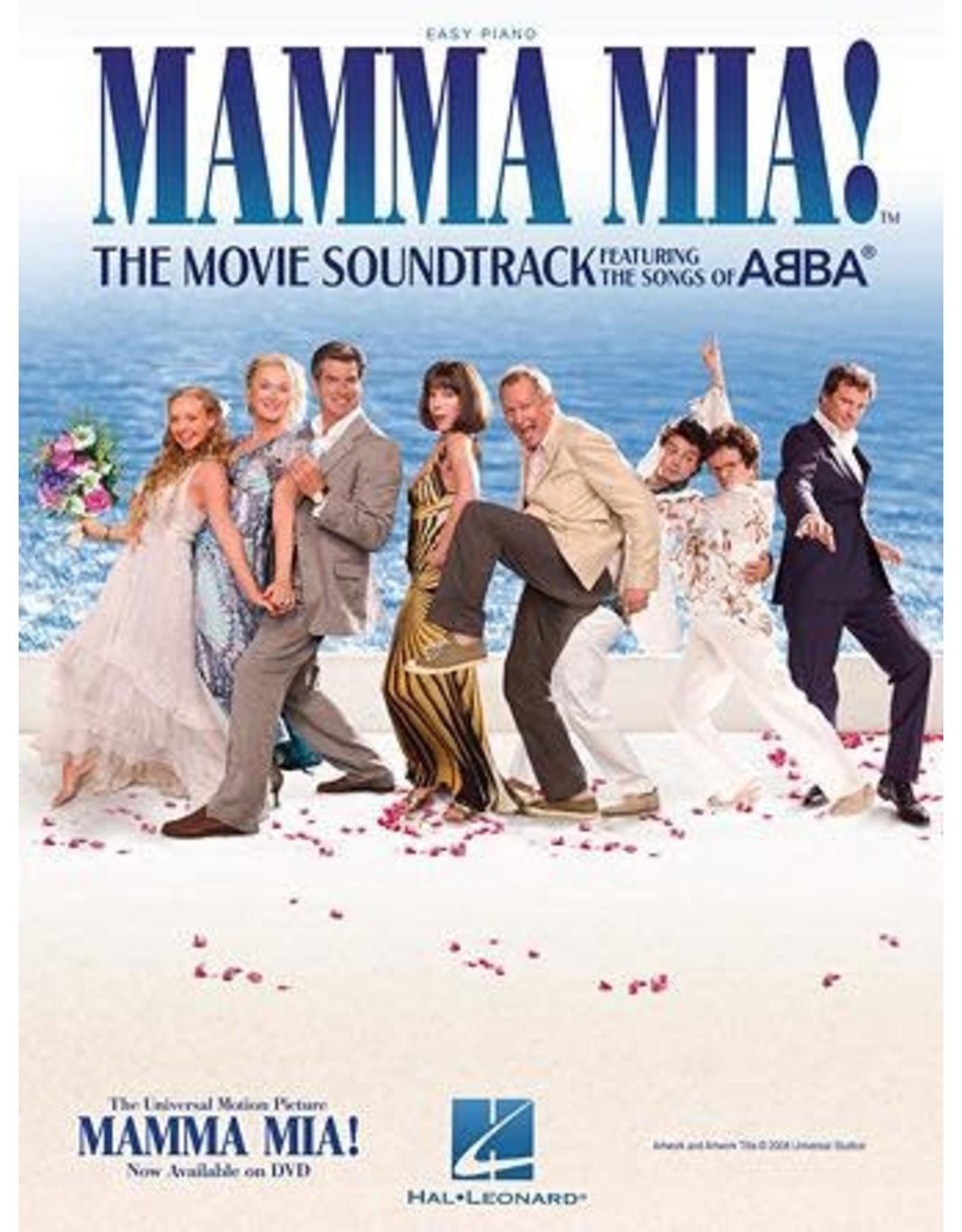 Hal Leonard Mamma Mia! Movie Easy Piano