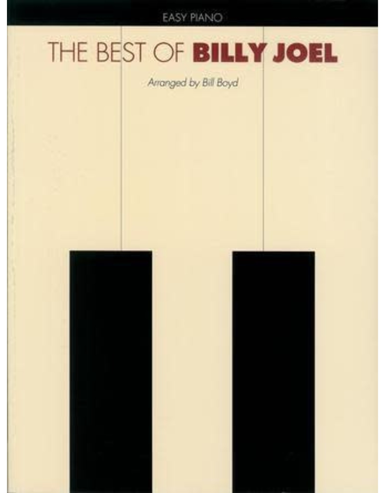 Hal Leonard Best of Billy Joel Easy Piano