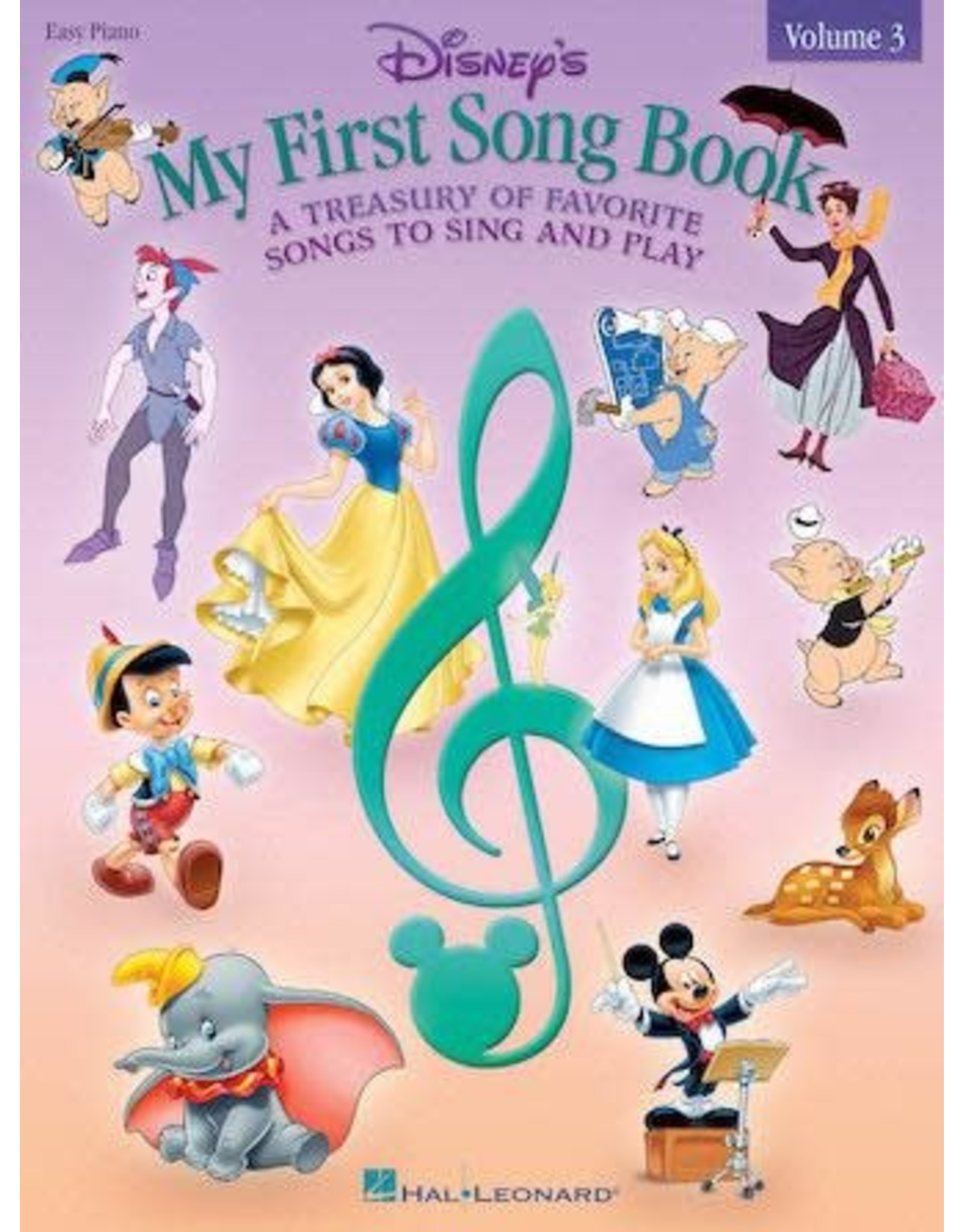 Hal Leonard Disney's My First Songbook Volume 3 - Easy Piano