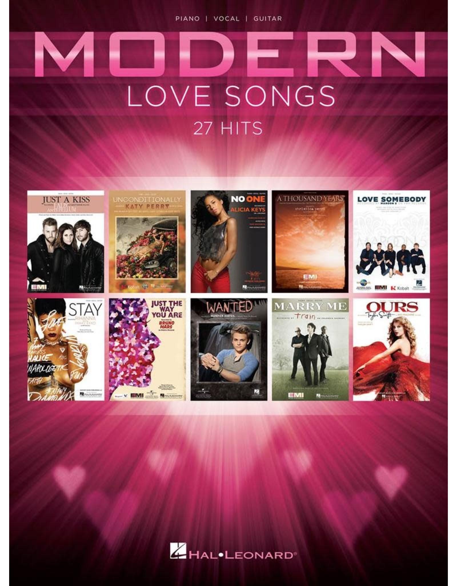 Hal Leonard Modern Love Songs PVG