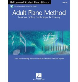 Hal Leonard Hal Leonard Adult Piano Method Book 1 with Audio Access
