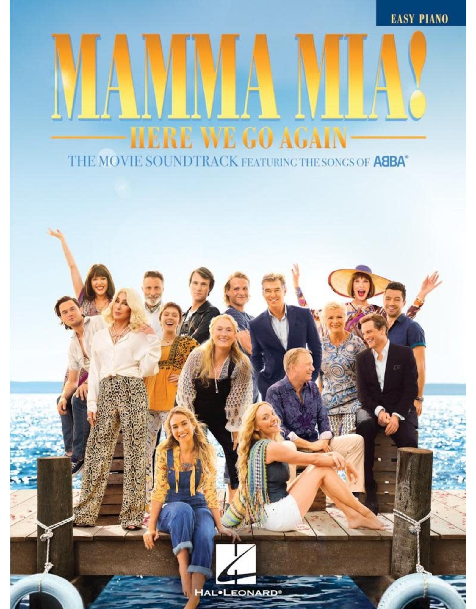 Hal Leonard Mamma Mia! Here We Go Again Movie - Easy Piano