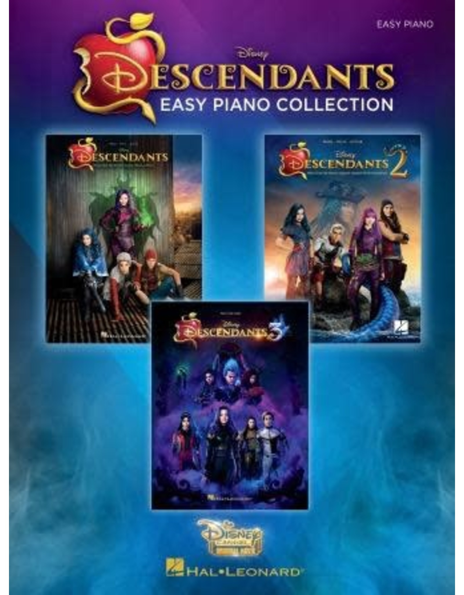 Hal Leonard Descendants Easy Piano Collection Music from the Disney Trilogy The Descendants