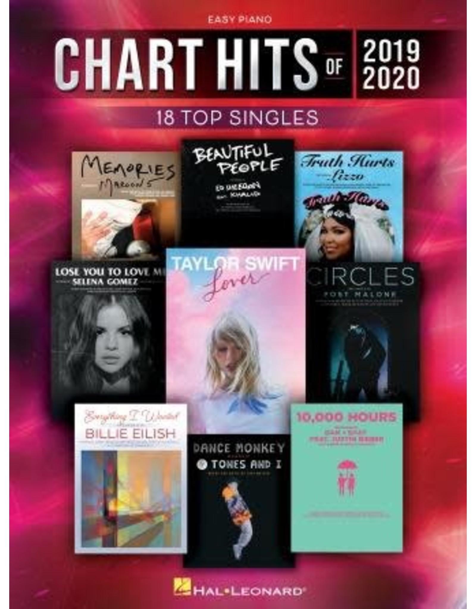 Hal Leonard Chart Hits of 2019-2020 Easy Piano