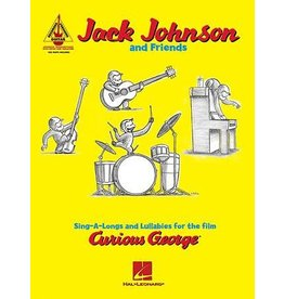 Hal Leonard Curious George (Sing-A-Longs and Lullabies) by Jack Johnson and Friends