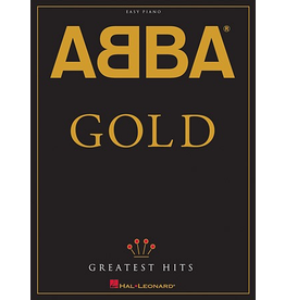Hal Leonard ABBA Gold (Greatest Hits) - Easy Piano by ABBA