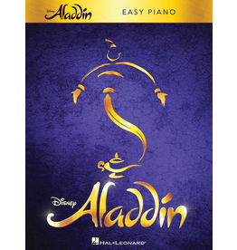 Hal Leonard Aladdin Broadway Musical Easy Piano