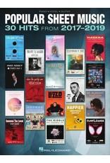 Hal Leonard Popular Sheet Music - 30 Hits from 2017-2019 PVG
