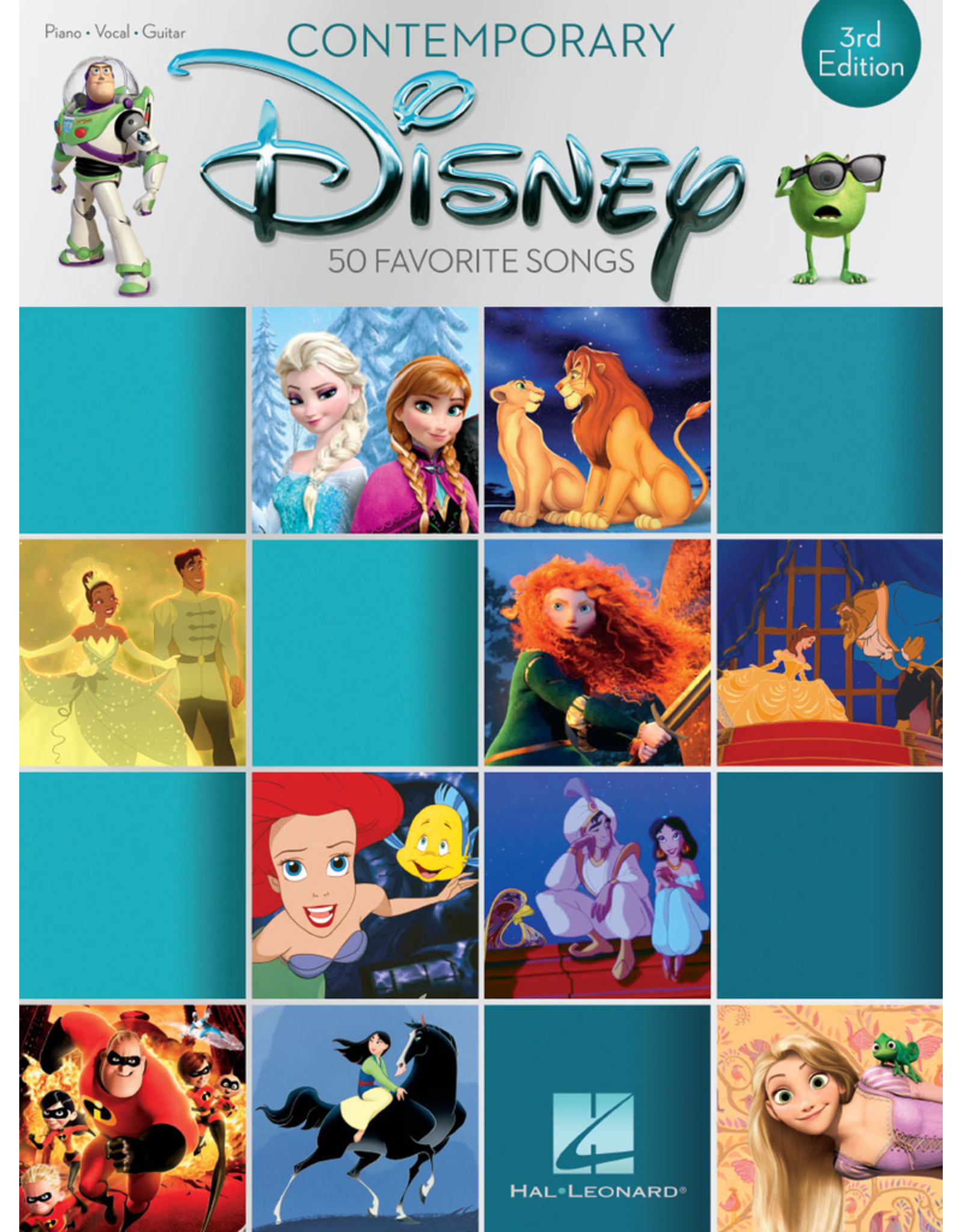 Hal Leonard Contemporary Disney PVG