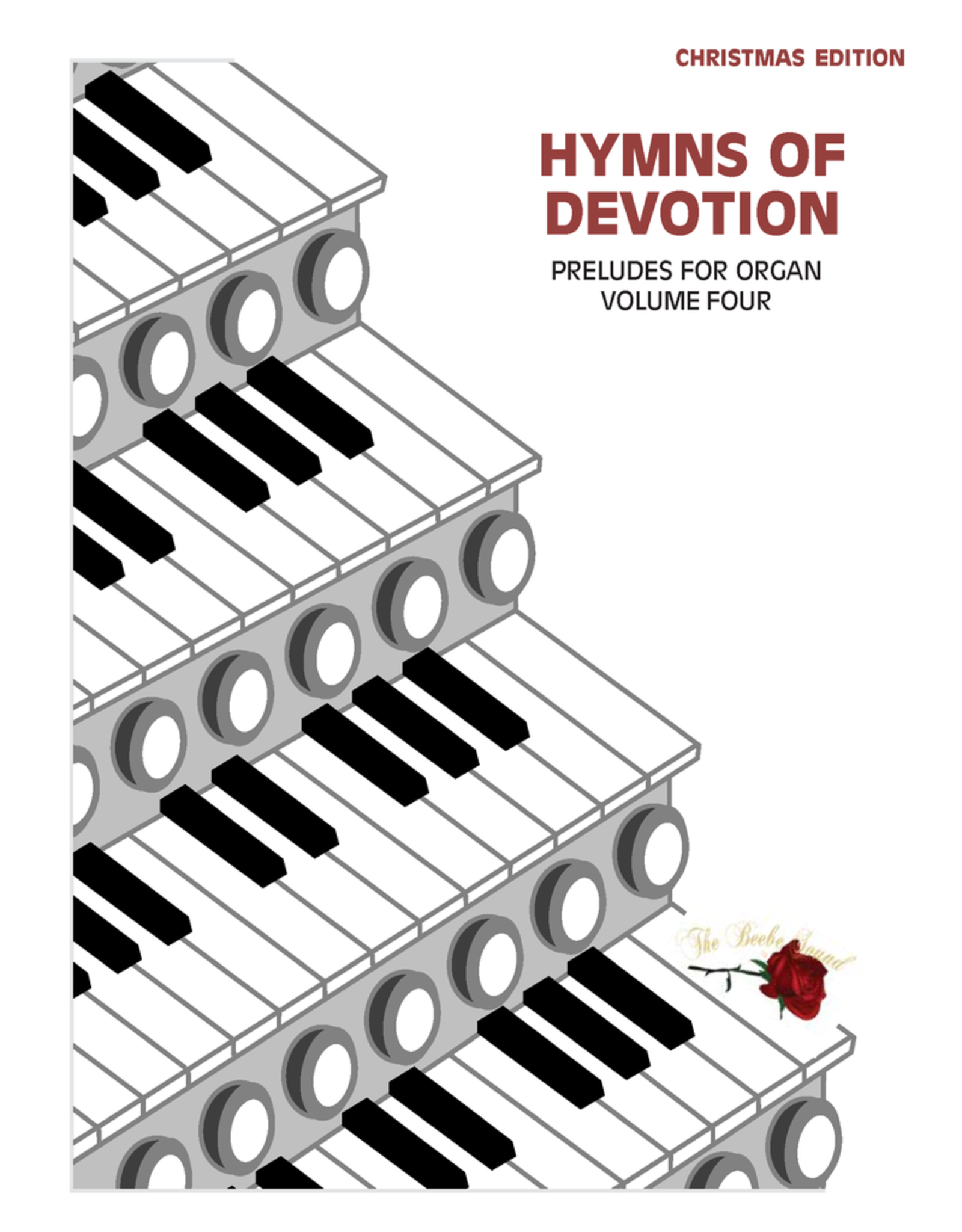Larice Music Hymns of Devotion Vol. 4 - Organ Preludes/Solos for Christmas arr. Larry Beebe