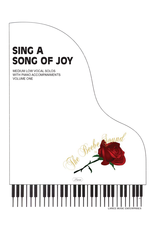 Larice Music Sing a Song of Joy for Medium Low Voice Volume 1 arr. Larry Beebe