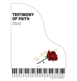 Larice Music Testimony of Faith Volume 2 for Piano arr. Larry Beebe