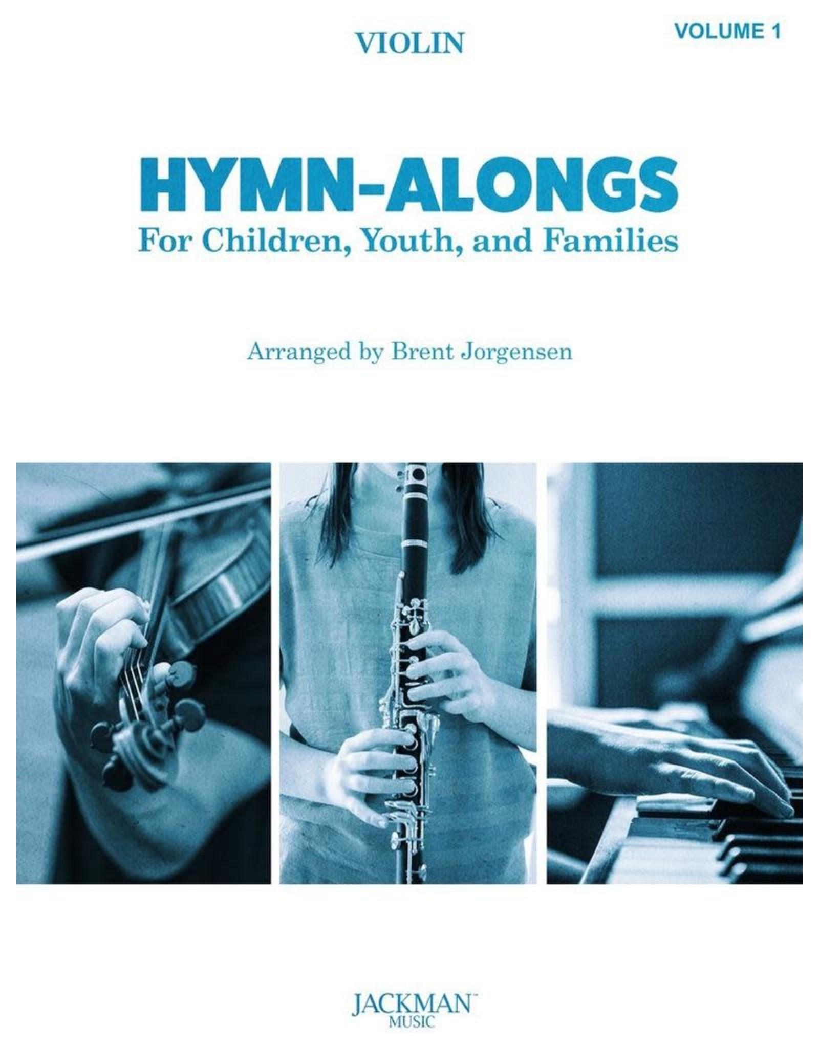 Jackman Music Hymn-Alongs Vol. 1 - arr. Brent Jorgensen - Violin