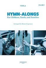 Jackman Music Hymn-Alongs Vol. 1 - arr. Brent Jorgensen - Viola