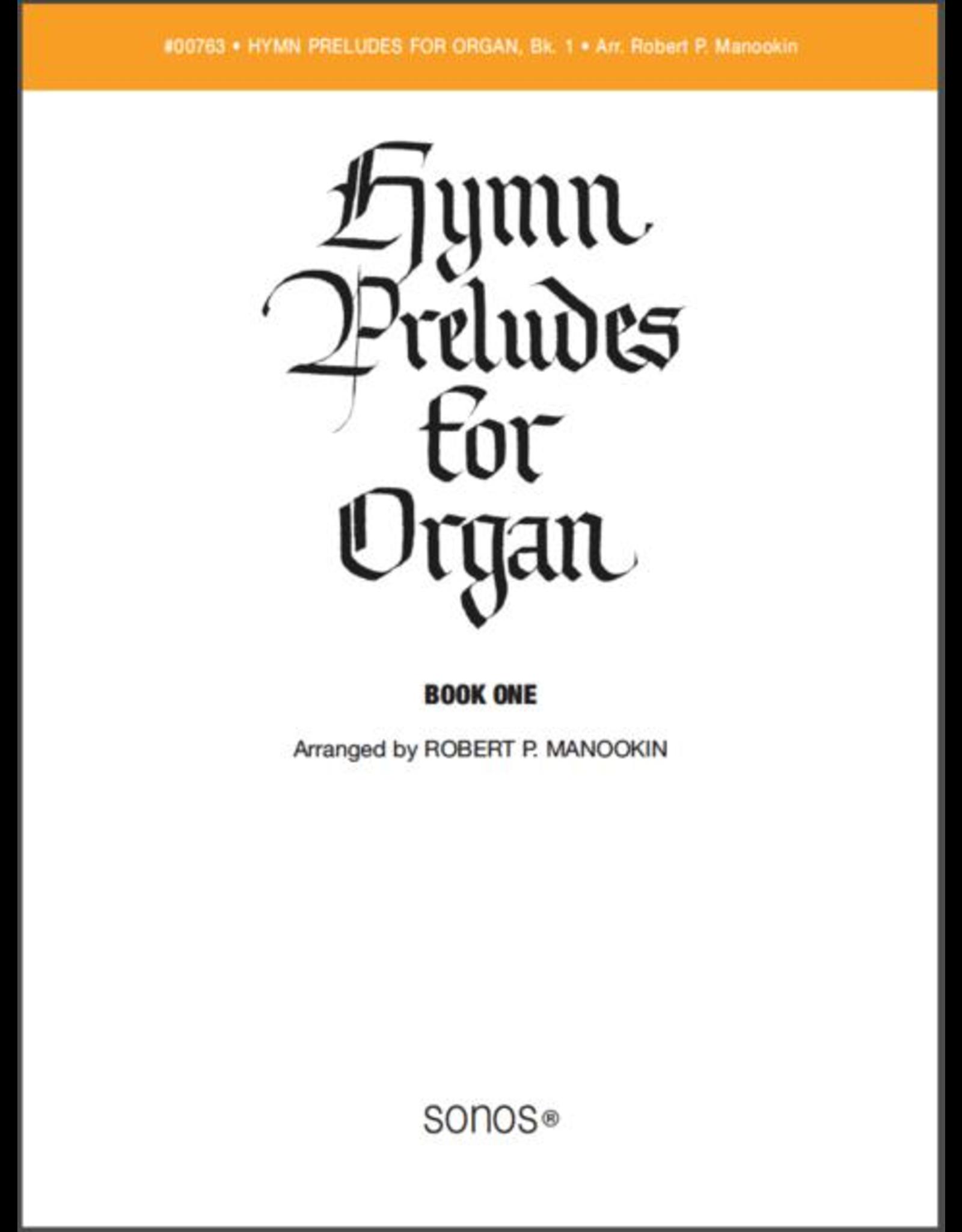 Jackman Music Hymn Preludes for Organ Book 1 arr. Robert P. Manookin